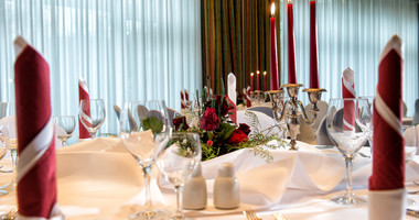 Function room for social gatherings in Wyndham Garden Wismar hotel | © Wyndham Garden Wismar Hotel