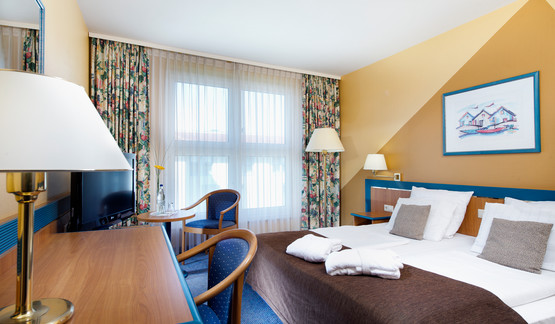 Superior double room in wellness hotel Wyndham Garden Wismar | © Wyndham Garden Wismar